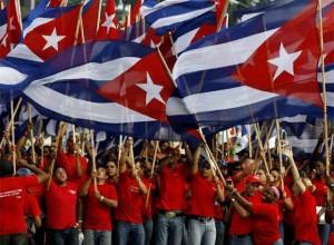 Los Primero de Mayo se convierte en una gran fiesta para el proletariado cubano.