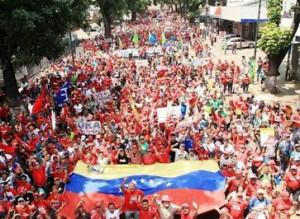 La concentración convocada para este viernes tiene lugar en Puente Llaguno, en el centro de la Caracas.