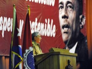 Lázaro estuvo omnipresente en las palabras del Presidente Raúl Castro.