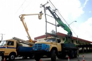 El mantenimiento en las redes resulta vital para logar la mejoría en el servicio eléctrico.
