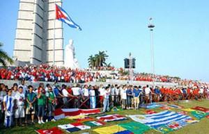 La mayoría de los participantes permanecerá en La Habana para intervenir en el desfile central en la Plaza de la Revolución.
