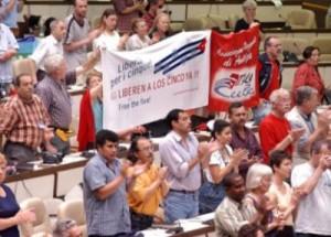 Los días 3 y 4 de mayo sesionará el VI Encuentro Sindical Nuestra América (ESNA). (foto: Otmaro Rodríguez)