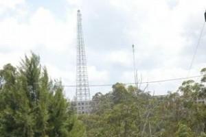 Hasta hace muy poco una estructura provisional prestaba estos servicios desde que en el 2005 el huracán Dennis derribó la torre anterior.