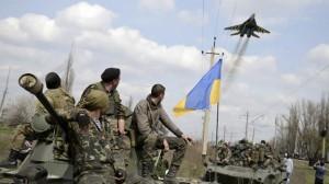 Slaviansk es el foco más activo de la resistencia de las milicias populares contra la concentración de divisiones reforzadas con blindados enviadas por Kiev.