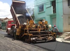 Actualmente se completa el beneficio de la calle Céspedes.