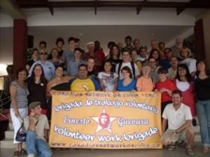 """Hasta el 15 de mayo la brigada """"Che Guevara"""" permanecerá en la provincia de Sancti Spíritus."""