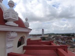 Un amplio programa de acciones constructivas ha beneficiado el Centro Histórico de Sancti Spíritus. (foto: Elisdany López)