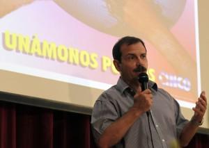"""Fernando Gonzalez en Audiencia  """"Los Cinco, la guerra mediática y la subversión contra Cuba"""". Foto: Ismael Francisco/Cubadebate."""