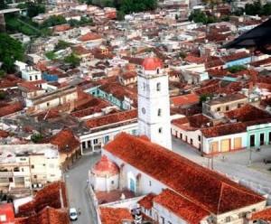 El centro histórico espirituano sobresale por su peculiar fisonomía urbana. (foto: Garal)