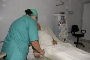 El servicio de Hemodiálisis resulta uno de los más beneficiados por el aporte de los aniristas.