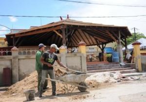 La Vallita, una de las principales unidades sometidas a acciones de rehabilitación.