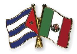 bandera cuba-mexico