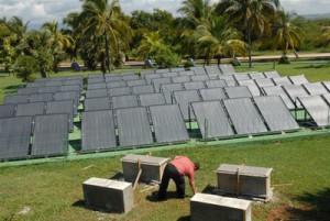 Los calentadores solares, tecnología asiática,  se utiliza en Cuba desde el 2007.