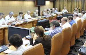 El General de Ejército Raúl Castro Ruz, presidió la sesión.