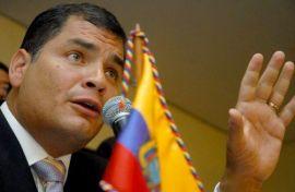 Rafael Correa fue ratificado al frente de la principal fuerza política de Ecuador.
