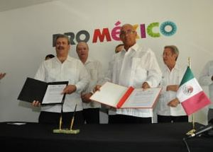 ProMéxico y Cepec firmaron un acuerdo de cooperación.
