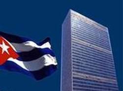 Cuba reiteró su demanda de que Estados Unidos cese sus acciones unilaterales.