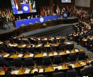 Los Ministros expresaron profunda preocupación por las acciones violentas que han tenido lugar en Venezuela .