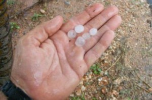 Este 29 de mayo se reportó en la localidad de Zaza del Medio una tormenta local severa con caída de granizos.