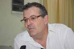 Laurent Perea, miembro del Consejo Nacional del Partido Comunista Francés.