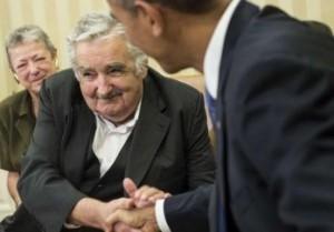 """Mujica pidió a Obama que haga esfuerzos para negociar la liberación de los tres cubanos del grupo conocido como """"Los Cinco""""."""