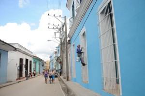 Más de 4 000 fachadas de viviendas se han beneficiado con resane o pintura a propósito del aniversario 500 de la villa.
