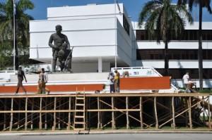 La gala por el medio milenio se desarrollará esperando el 4 de junio en la Plaza Mayor General Serafín Sánchez.