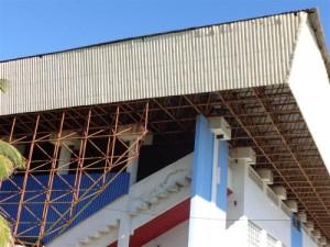 El polideportivo Yayabo precisa una reparación capital.