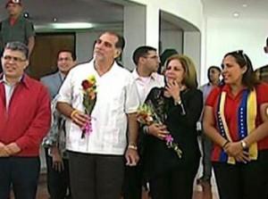 El Comandante Hugo Chávez nos ha dejado una América Latina distinta, expresó René a su llegada a Caracas.