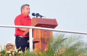 Ulises Guilarte de Nacimiento, secretario general de la Central de Trabajadores de Cuba.