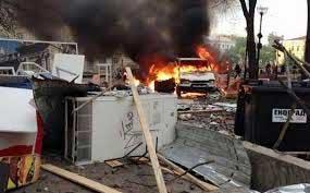 La operación de fuerza controlada por Kiev significa una ocupación y el terror contra la población de las regiones.