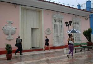 La sede de la Uneac, en el bulevar espirituano, promueve múltiples proyectos a favor de la cultura.