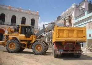 Cerca de dos millones de pesos se destinan a la rehabilitación de las principales calles de Sancti Spíritus.