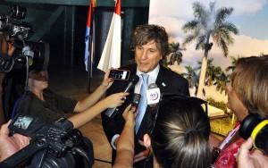Amado Boudou, Vicepresidente de la República Argentina.