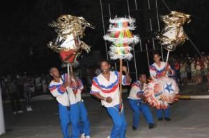 El carnaval espirituano contará, como es tradicional, con la evolución de las comparsas y la exhibición de carrozas.