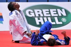 Maricet Espinosa alcanzó el tercer puesto al vencer a la israelí Yarden Gerbi, vigente campeona mundial.