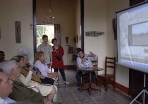 El libro digital fue presentado en la Casa de la Guayabera. Foto Oscar Alfonso (AIN)