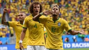 Brasil puso de manifiesto todo su potencial ofensivo con contundente victoria de 4-1.
