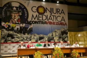 Esta semana destacados especialistas de ocho naciones se reunieron durante dos días en Caracas para celebrar el Foro Internacional La Conjura Mediática contra Venezuela.