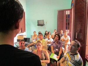 El encuentro reúne a realizadores jóvenes de todo el país.