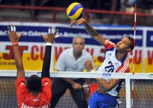El espirituano Uriarte aportó 20 puntos en el triunfo de este sábado ante Túnez.