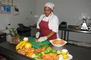 La presentación de los alimentos da el acabado final al sistema comercial. (foto: Vicente Brito)