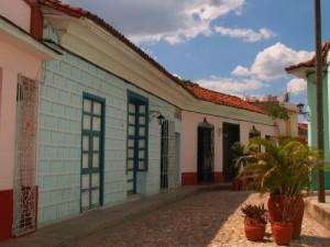 El empedrado de antiguas calles permitió acentuar el ambiente colonial del Centro Histórico de la villa.