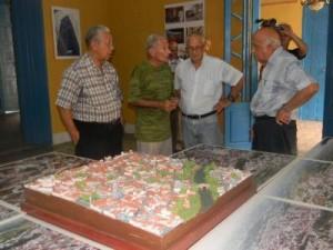 Los combatientes recorrieron diversos lugares de interés histórico y social de Sancti Spíritus.
