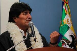 Evo Morales cerrará la sesión inaugural.