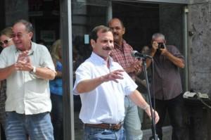 Les doy las gracias a este pueblo santiaguero, por el afecto, el cariño y la solidaridad que he recibido, expresó Fernando.