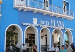 El hotel Plaza está ubicado en el mismo centro de la ciudad de Sancti Spíritus.