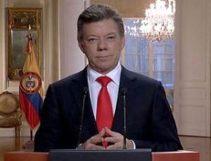 """Santos aseguró que en la segunda vuelta de los comicios primará """"la convicción de los votantes de que no podemos desviarnos del buen camino que llevamos y debemos darle una oportunidad a la paz con inclusión social""""."""