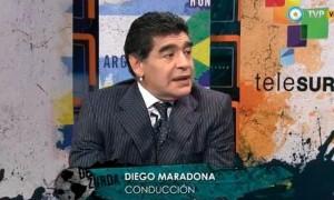 """""""Estamos ante una de las primeras veces que Chile le puede jugar de igual a igual a Brasil"""", asegura Maradona."""