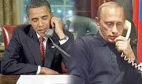 Putin y Obama acordaron conversar por vía telefónica durante su encuentro en Normandía, el 6 de junio último.